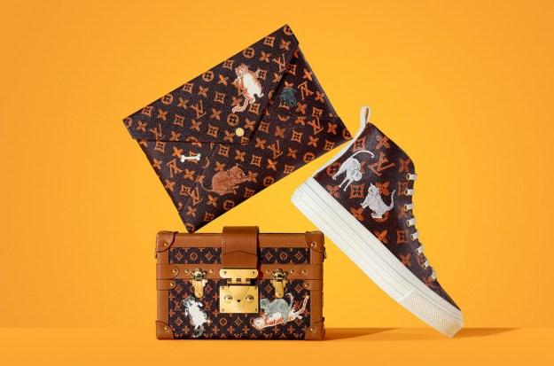 Louis Vuitton X Grace Coddington Drops Capsule Collection – View Photos!