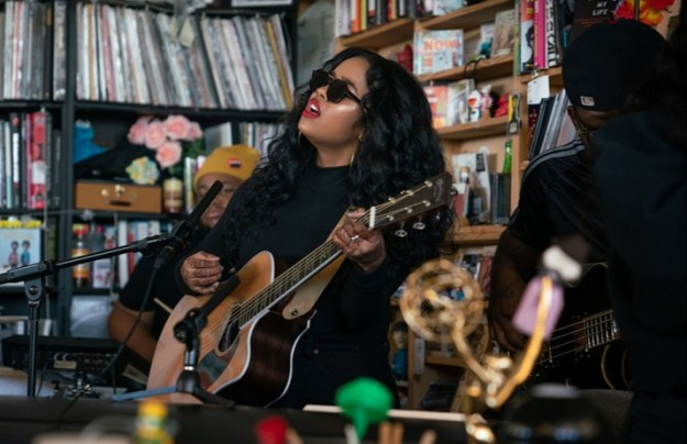 H.E.R. Delivers Touching Performance at NPR's Tiny Desk Concert – Watch Here!
