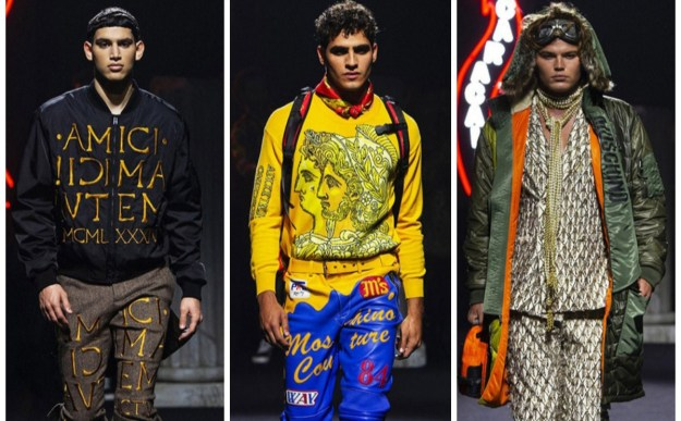 Moschino Unvails its Fall 2019 Menswear Collection at Milan Fashion Week