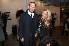 NEW YORK, NY - JANUARY 24: Luis Alvarez and Maria Estrany-y-Gendre attend Cocktails To Benefit Global Strays And A Private Showing Of Modern Images Of The Natural World at Novo Locale on January 24, 2019 in New York. (Photo by Sylvain Gaboury/PMC) *** Local Caption *** Luis Alvarez;Maria Estrany-y-Gendre