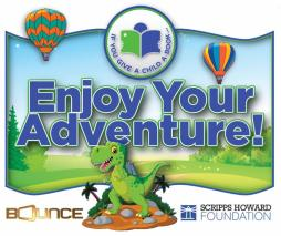 Bounce & Scripps Howard Foundation to Give Away 1,000 Books At Scholastic Book Fair in Atlanta