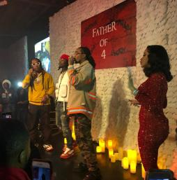 Recap + Pics: The Migos and Cardi B helps Offset Premiere His Solo Project in Atlanta