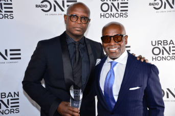 Honoree Benny Pough with L.A. Reid at the Urban One HonorsPhoto Credit: Antoine DeBrill