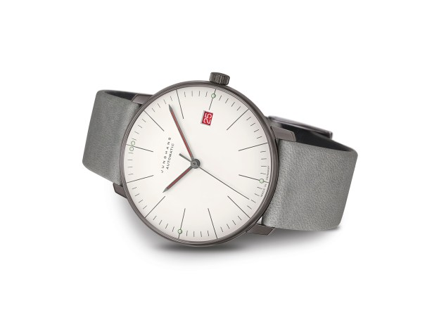 Junghans Unveils Self-Winding Watch to Commemorate 100th Anniversary of Bauhaus