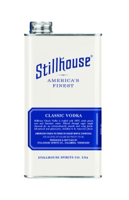 Stillhouse Classic Vodka can - Photo Courtesy of Stillhouse Spirits Co