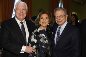 Dennis Basso, Marion Waxman, Dr. Samuel Waxman