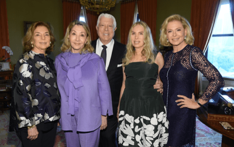 Celebrated Fashion Designer Dennis Basso Showcases Eveningwear At 6th Annual Collaborating For A Cure Ladies Luncheon To Benefit Cancer Research