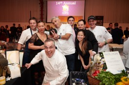 -Taste of Hope chefs and attendees