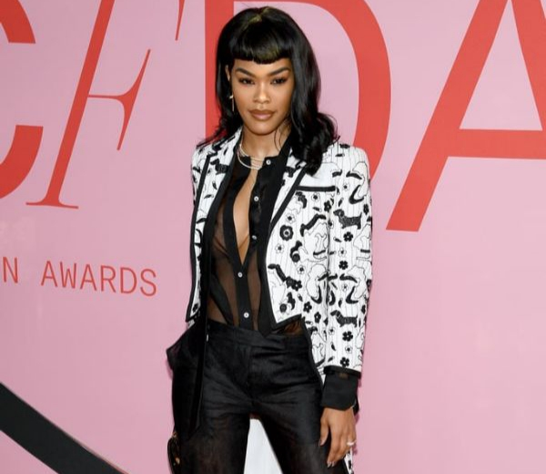 66a5b03122066 Teyana Taylor Stuns Dressed in Thom Browne at the 2019 CFDA Awards. Fashion