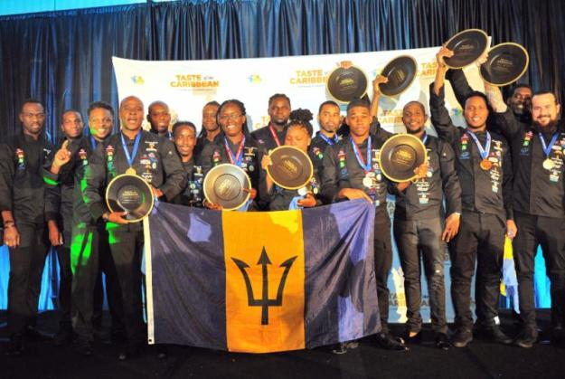 Barbados named the Caribbean National Culinary Team of the Year