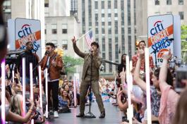 Citi Concert Series on TODAY presents Jonas Brothers at Rockefeller Plaza on June 7, 2019 in New York City. Photo credit: Tyler Essary (1)