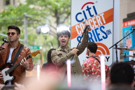 Citi Concert Series on TODAY presents Jonas Brothers at Rockefeller Plaza on June 7, 2019 in New York City. Photo credit: Tyler Essary (2)