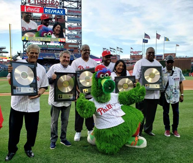 GAMBLE & HUFF 15th Annual TSOP African American Heritage Celebration with the Phillies Awards R&B Legends for Community Service