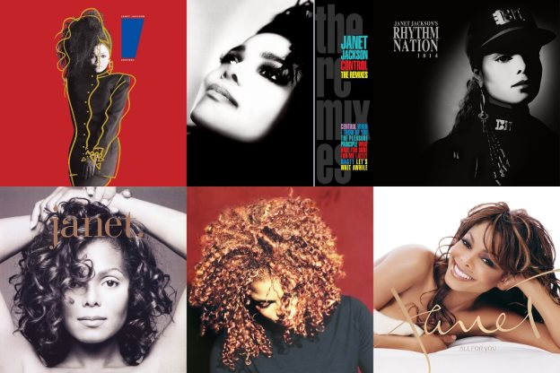 JANET JACKSON TAKES FULL CONTROL OF HER VINYL LEGACY