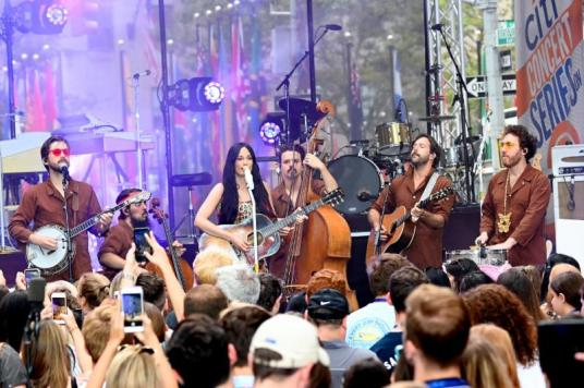 Kacey Musgraves performs onstage during Citi Concert Series On TODAY Presents Kacey Musgraves at Rockefeller Plaza on July 19, 2019 in New York City-1