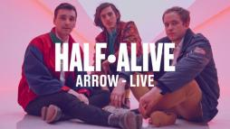 "Vevo and half*alive share live performances of ""arrow"" and ""runway"""