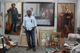 FEATURED Artist Spotlight – Ghanaian-born painter Samuel Adoquei