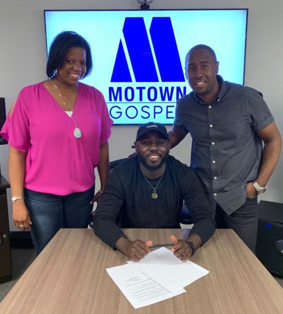 Motown Gospel Signs Breakout Artist Jonathan Traylor