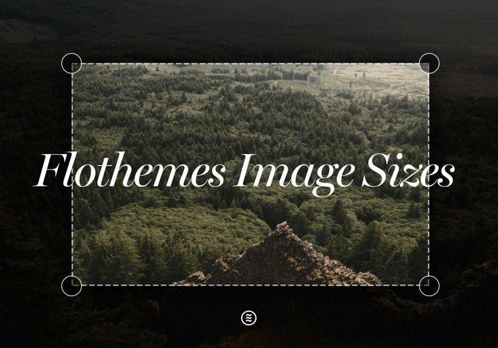 Image sizes for web