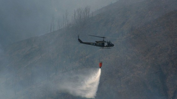 UH-1H Incendio forestal