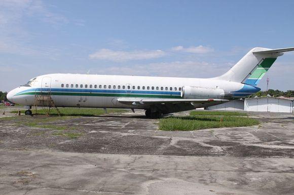DC-9 sin matrícula 2012