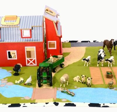 DIY FARM PLAY MAT | PATTERN AND TUTORIAL