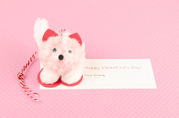 Pompom Pet Valentine Dog 2