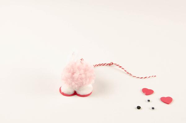Pompom Pet Valentines step 6