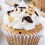 Banana Cupcakes With Cream Cheese Frosting Cake Decorating Recipe