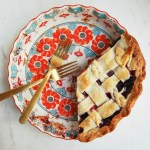 Dark Chocolate Berry Pie - Flour Covered Apron