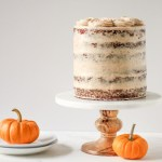 A six layer pumpkin carrot cake is the perfect fall dessert