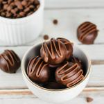 Chocolate Chip Cookie Dough Truffles - Flour Covered Apron