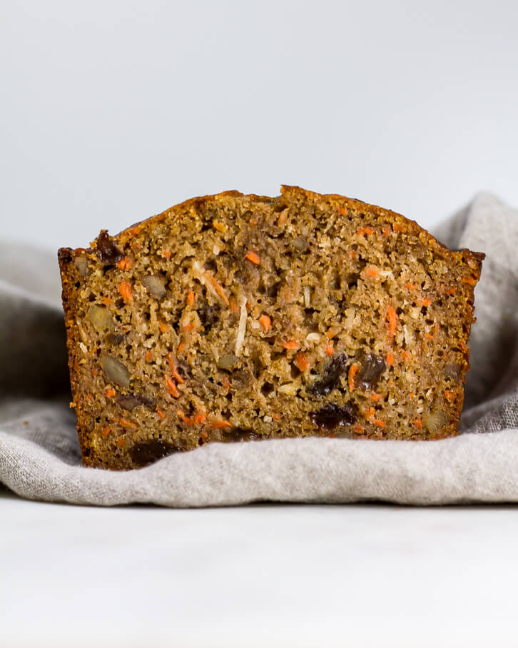 Whole Wheat Carrot Bread - Flour Covered Apron