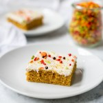 Sweet Potato Sheet Cake with Cream Cheese Frosting