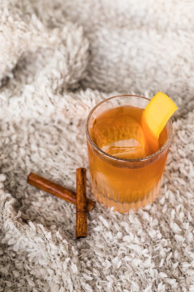 Chai Maple Vodka Old Fashioned