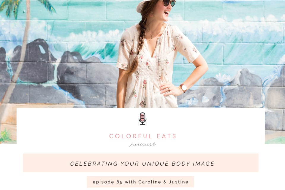 Colorful Eats Podcast Episode 85 Body Image