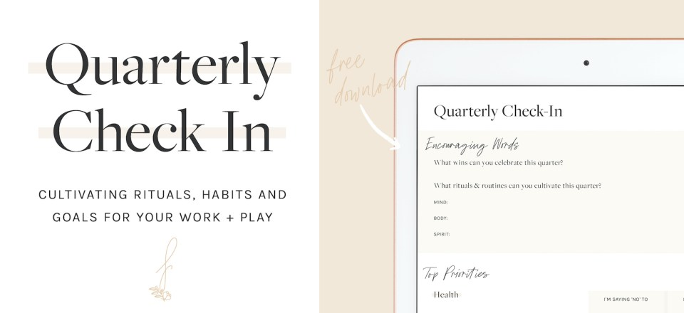 Quarter_Check_in_Cultivating_Rituals_Goals_and_Daily_Joys_Flourish_Caroline_Potter_NTP