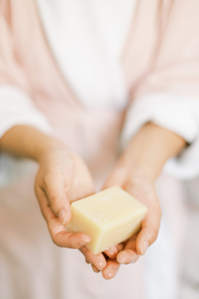 All natural sanitizer and soap for clean hands