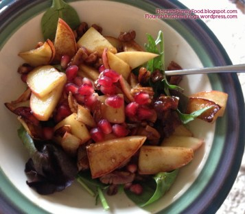 warm holiday breakfast salad copy