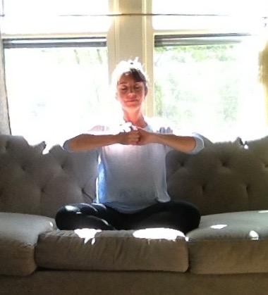 meditation monday  sankalpa mudra  clear mind / open