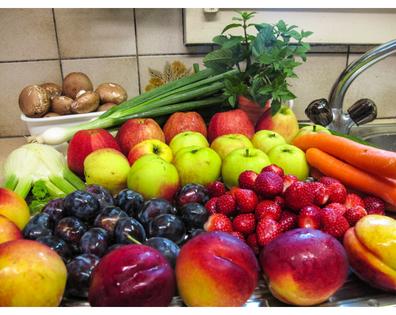 Flourish pics- kitchen, veggies, and fruits