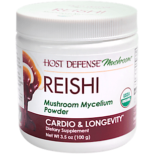 Organic Reishi Mushroom Mycelium Powder (66 Servings)