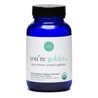ora organic your golden turmeric cannister