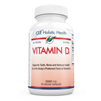 CLE holistic health vitamin D3 bottle