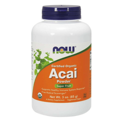 now foods organic acai powder cannister