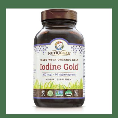 nutrigold organic iodine gold bottle