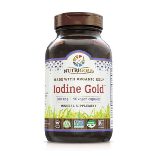 nutrigold organic iodine gold bottle