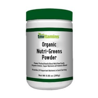 tnvitamins organic nutri greens powder cannister