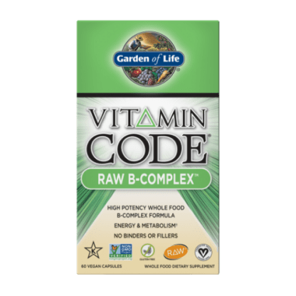 vitamin code raw b complex box