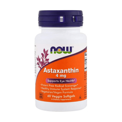 Now Foods Astaxanthin 4 mg 60 Softgels